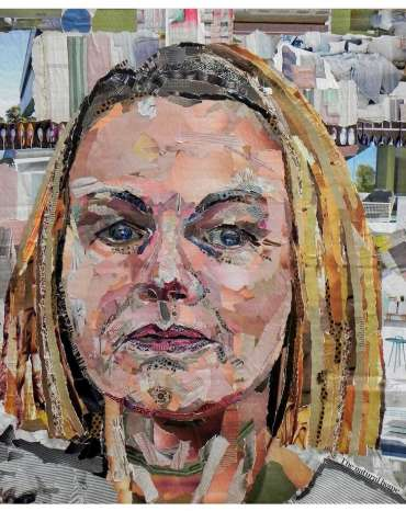 Self Portrait by Danielle Vaughan