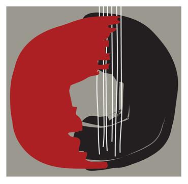 Enso Heart String by David Clarke
