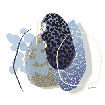 Thumbnail image of Pebbles 1 by David Clarke