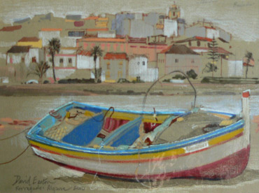 Thumbnail image of Ferragudo, Algarve by David Easton