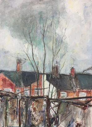 Thumbnail image of Allotment Fence by Deborah Ward