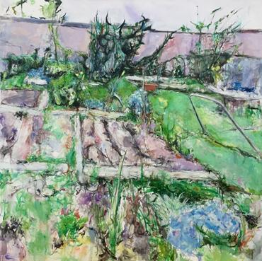 Thumbnail image of Allotment, Spring by Deborah Ward