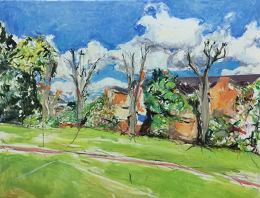 Thumbnail image of Pollarded Trees, Knighton, 1 by Deborah Ward