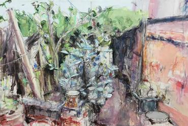 Garden and Line by Deborah Ward