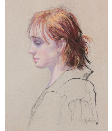 Thumbnail image of Female profile by Emma Fitzpatrick