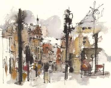 Rutland Street, Leicester by Emma Fitzpatrick