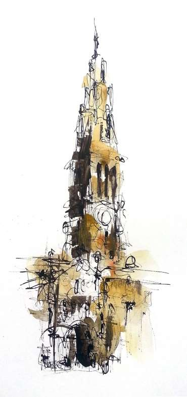 Thumbnail image of Cathedral entrance, Leicester by Emma Fitzpatrick