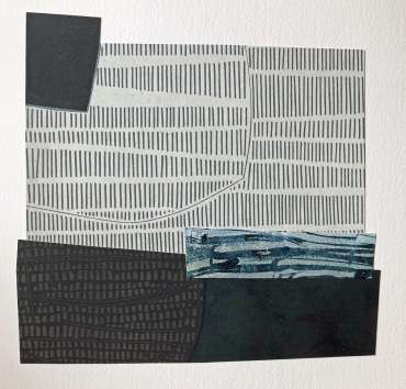 Untitled Collage XI by Fiona Humphrey