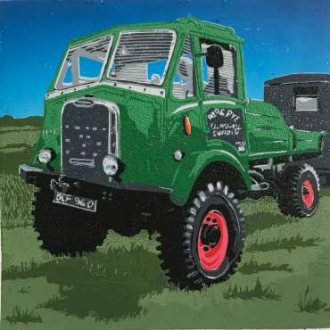 Thumbnail image of Logging Lorry by Frank Bingley
