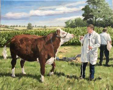 Thumbnail image of Prize Heifer by Frank Bingley