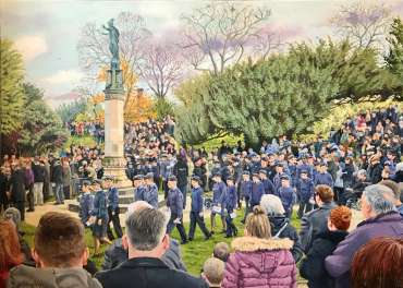 Thumbnail image of Remembrance Sunday, Hinckley by Frank Bingley
