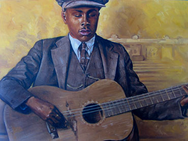 Thumbnail image of Blind Willie McTell by Geoffrey Beasley