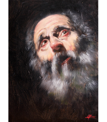 Thumbnail image of The Penitent St Peter by George Sfougaras