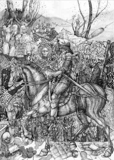 Knight by George Sfougaras