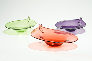 Thumbnail image of Small and large olive bowls by Graeme Hawes