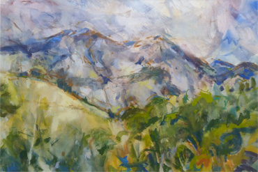 Sierra del Sueve, Asturias by Hazel Crabtree