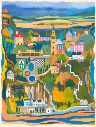Thumbnail image of Portmeirion Village by Helen Newton