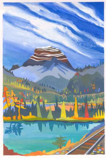 Thumbnail image of Rocky Mountaineer by Helen Newton