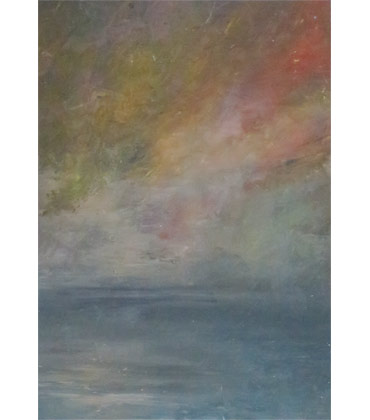 Thumbnail image of Sunset, study by Jacqui Gallon