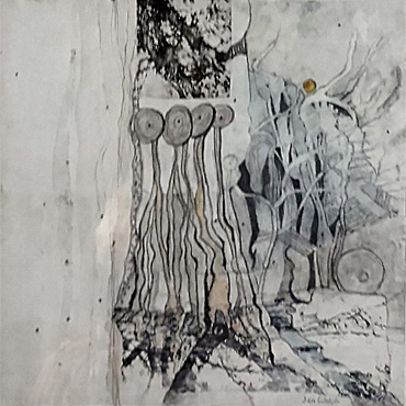 Medieval Trees 3 by Jan Welch