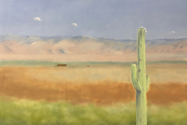 Saguaro Blossom Day by Jane Domingos
