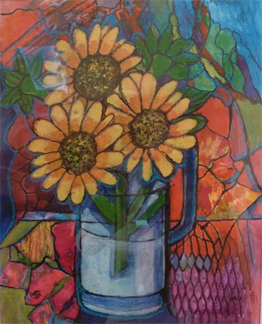 Sunflowers by Joan Roobottom