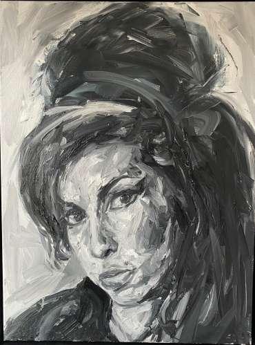 Thumbnail image of Amy Winehouse by Joe Giampalma