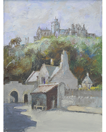 The Way to St Michael's Mount by John Nixon