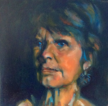 Thumbnail image of Self-Portrait by Judy Merriman