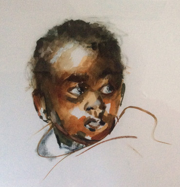 Thumbnail image of The Gambian Child by Judy Merriman