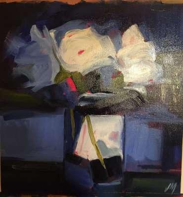 Blue Still Life by Judy Merriman