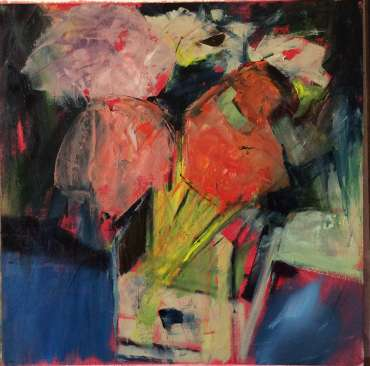 Thumbnail image of Flower Arrangement by Judy Merriman