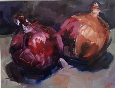 Thumbnail image of A Couple of Onions by Judy Merriman