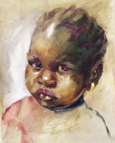 Thumbnail image of Gambian Child by Judy Merriman
