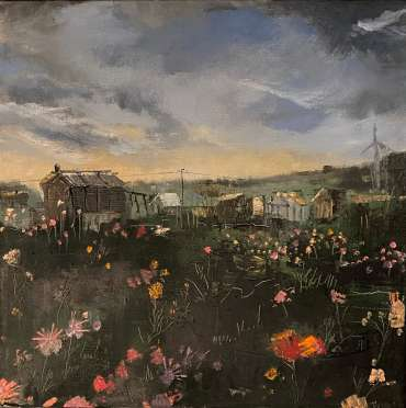 Late Summer Flowers on the Plot by Julie Manson