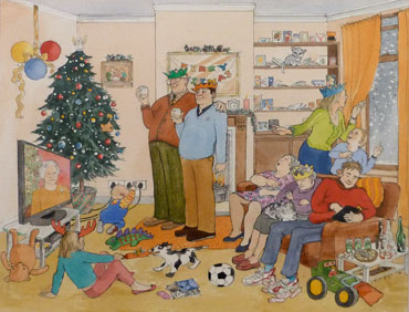 Thumbnail image of Christmas Afternoon by Kathie Layfield