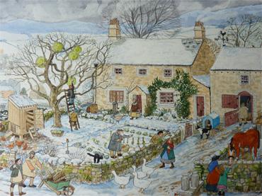 December by Kathie Layfield