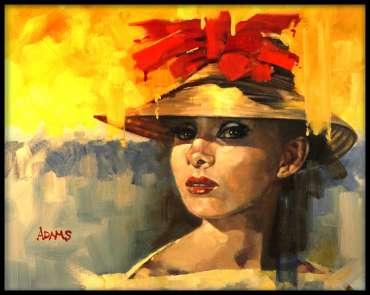 Thumbnail image of Audrey Hepburn by Kelvin Adams
