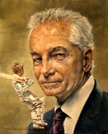 Thumbnail image of David Gower by Kelvin Adams
