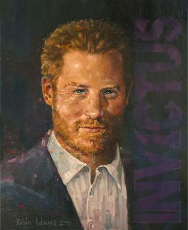 Prince Harry by Kelvin Adams