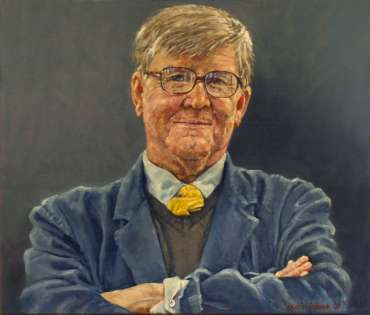 Alan Bennett by Kelvin Adams