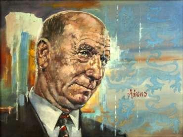 Thumbnail image of Sir Bobby Charlton by Kelvin Adams