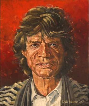 Thumbnail image of Sir Mick Jagger by Kelvin Adams