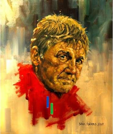 Thumbnail image of Sir Kenny Dalglish by Kelvin Adams