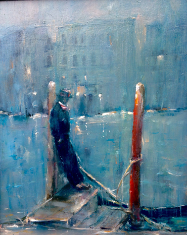 End of the Day, Venice by Linda Sharman