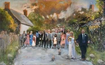 Thumbnail image of The Village Wedding by Lisa Timmerman