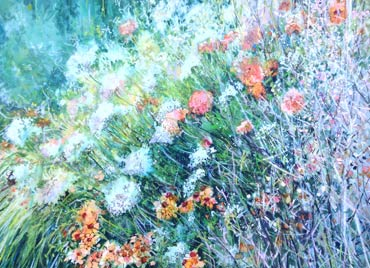 Thumbnail image of Peaceful Border by Lyn Armitage