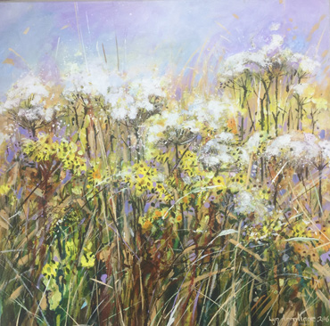 Summer Evening in the Meadows by Lyn Armitage