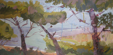 Thumbnail image of Ikarian Trees, Greece by Margaret Chapman