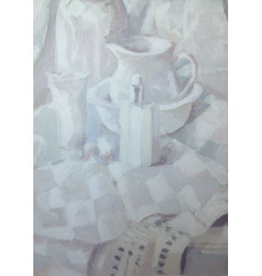 Thumbnail image of Study in White by Margaret Chapman